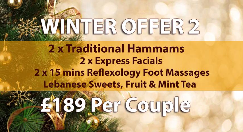 Arabian Hammam in London Winter Offer 2