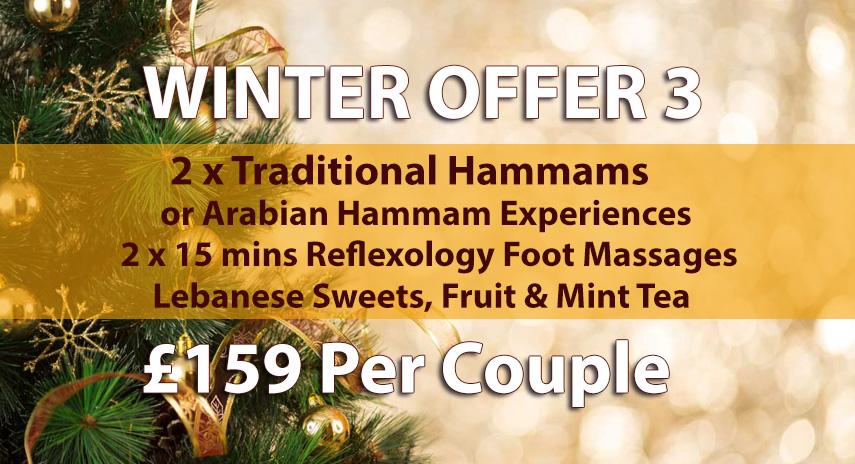 Arabian Hammam in London Winter Offer 3